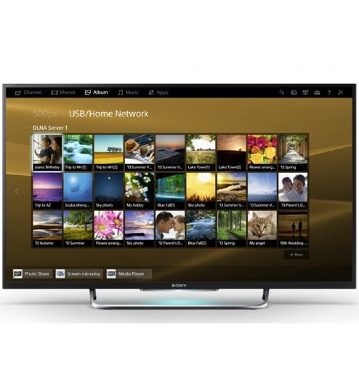 50 inch w800b bravia 3d internet led backlight tv kdl for Miroir 50in projector review
