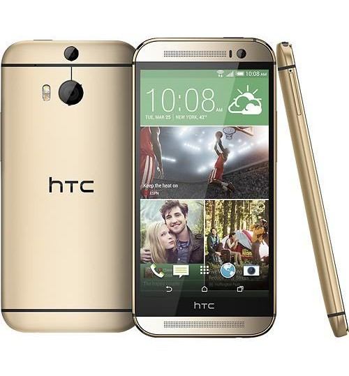 HTC - One (M8) 4G gold