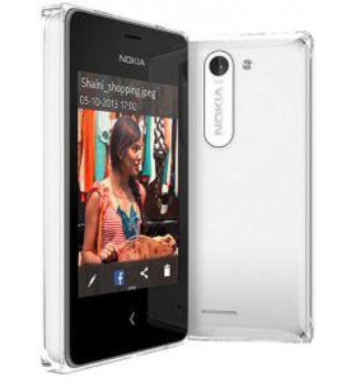 Nokia Asha 500 Dual Sim White- Technical Specifications, In Sales Package,  - SAR249 00- nokia 500 white - nokia
