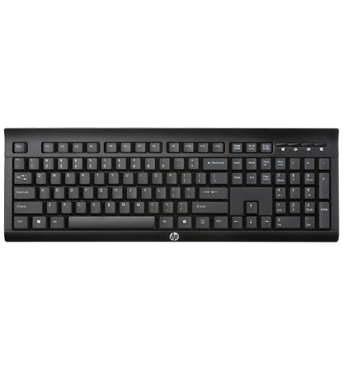 HP Wireless Keyboard K2500, Black