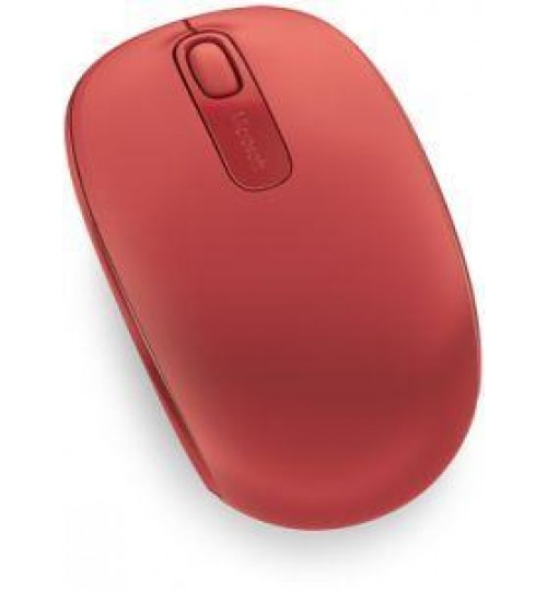 MICROSOFT Wireless Mbl Mouse 1850 Flame Red V2