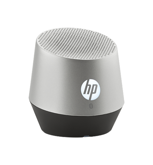 HP S6000 Silver Portable Mini Bluetooth Speaker