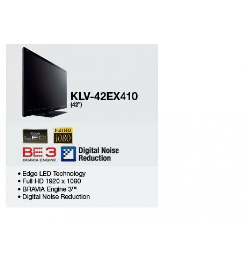 Sony 42 inch EX410 Series BRAVIA LCD TV