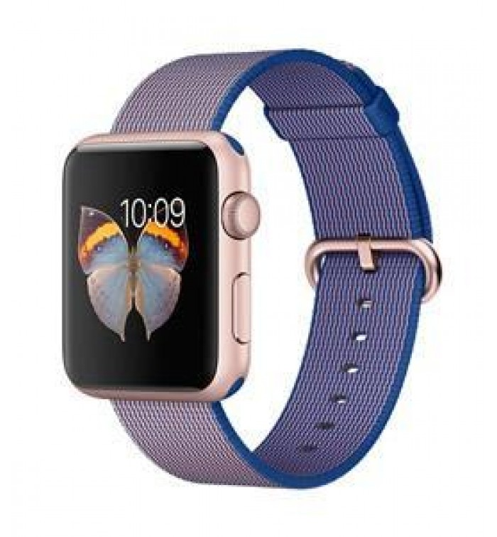 online store 06cb4 386f1 Apple Watch Sport 42mm Rose Gold Aluminium Case- Warranty : 2 Years  Operating System : Watch OS2 - SAR1-399.00- MMFP2AE/A - Apple