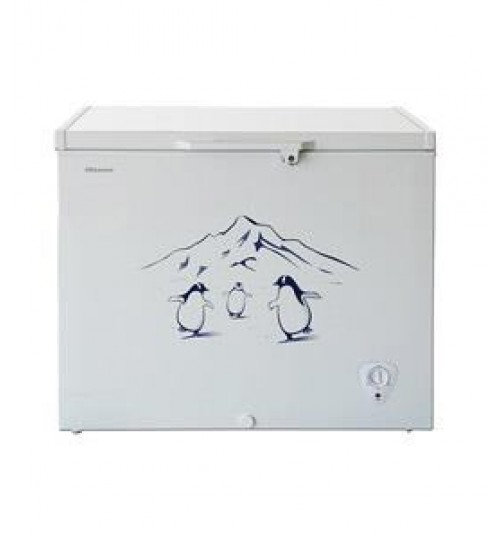 Hisense Chest freezer, 8.8 Cuft, White