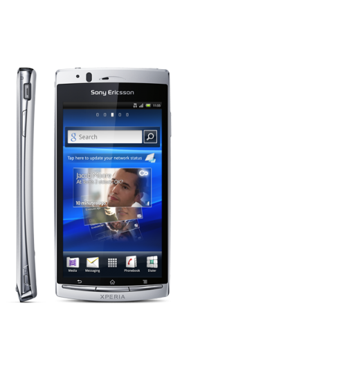 Sony Ericsson Xperia ARC S LT18I (1 GB, WiFi, White)