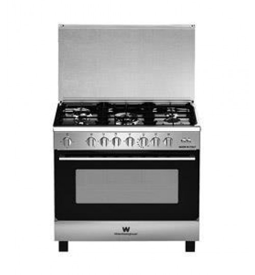 White WestingHouse Gas Cooker 90x60