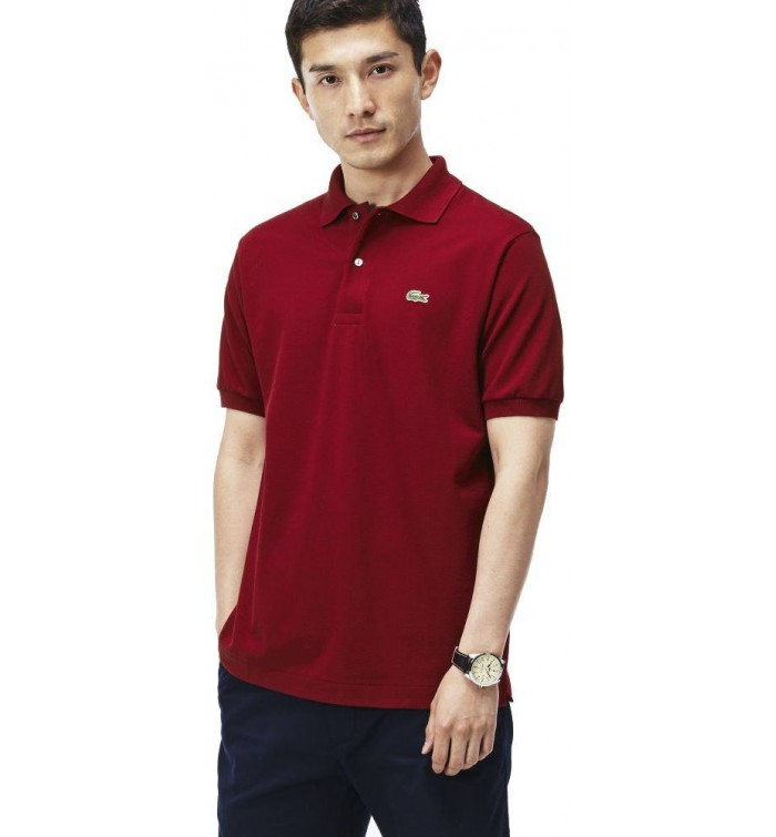 78a047f3f31e4 Lacoste Polo T-Shirt for Men - Red - Size 5 US - 087021 039- The ...