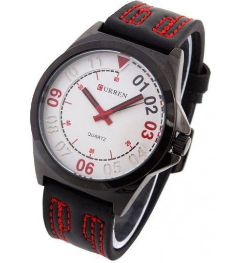 Wrist Watch for Man by Curren, Sports, M8153 - Dark Silver