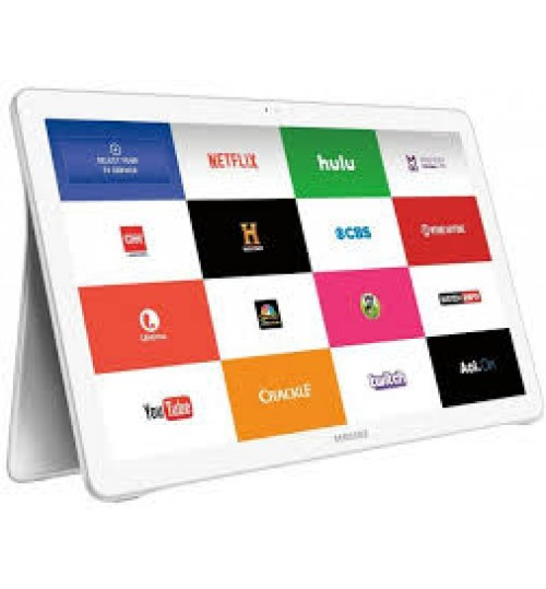"""SAMSUNG Galaxy TAB View 4G/LTE 18.4"""" Android,White, Warranty Agent"""