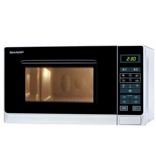 Microwave Oven with Grill by Sharp 25 Litres , Stainless