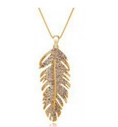 Badminton gold necklace studded