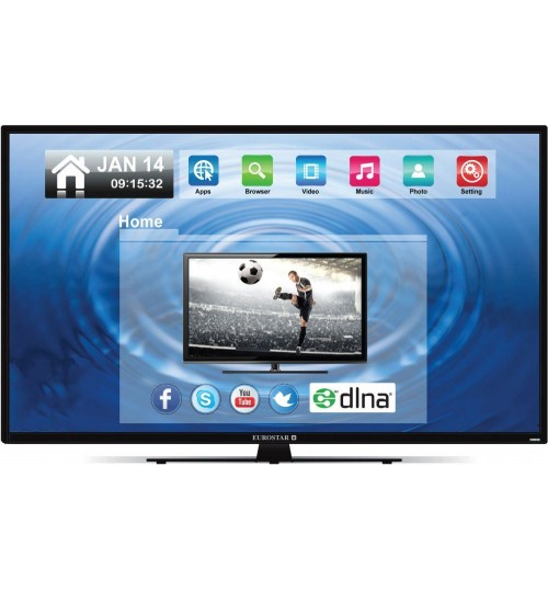 Eurostar 55 inch LED Full HD Smart TV - T55SLED-E15