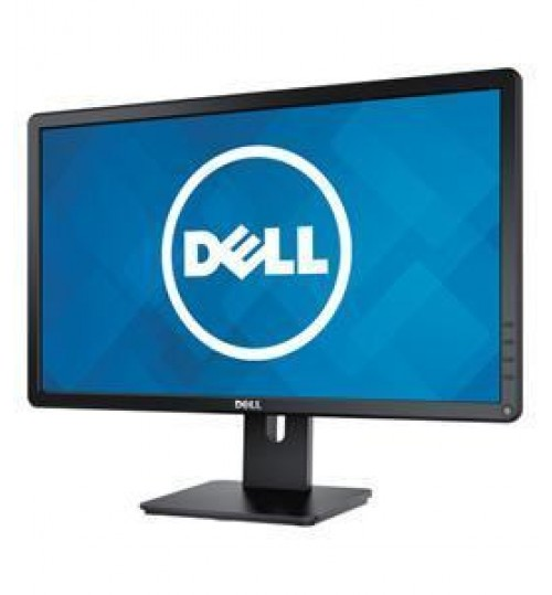 "Dell E-series 21.5"" LED Monitor, FHD, Black"