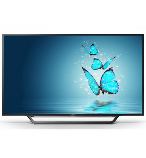 Sony 55 Inch Full HD Smart TV, Black - 55W650D
