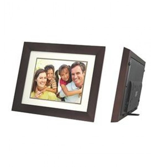 "CAVOT 12"" Digital Photo Frame Wooden"
