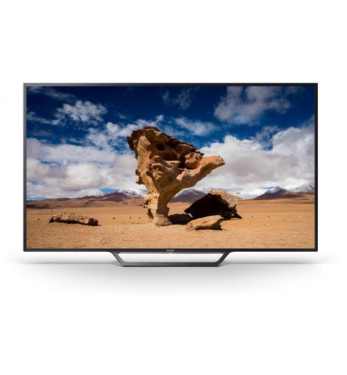 Sony 40 Inch Full HD Smart TV, Black - 40W650D