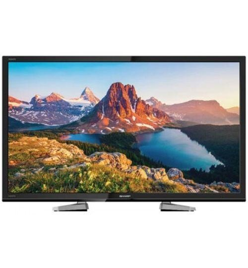 Sharp 50 inch LED Full HD TV , Black , LC50LE458X