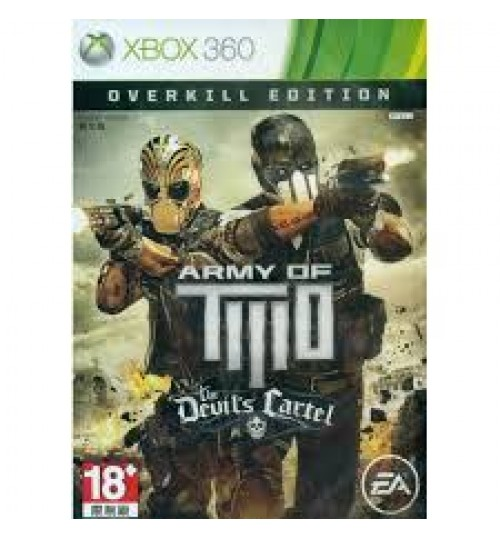 Army Of Two: The Devils Cartel Overkill Xbox Game
