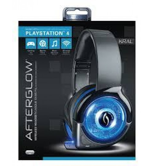 Afterglow Wireless Gaming Headset For PS4