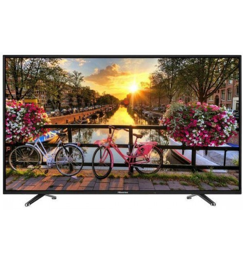 Hisense 55K220P - 55 Inch Full HD LED TV, Black
