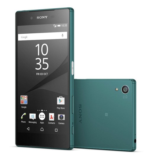 Sony Xperia Z5, Dual Sim ,LTE,Camera 23 MP ,  Green,Guarantee 2 Years