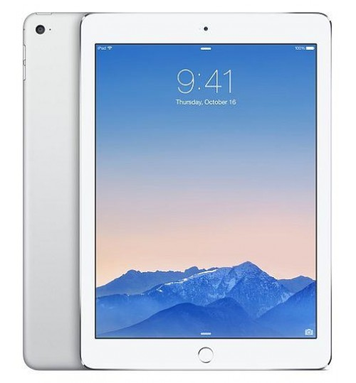 "Apple Ipad Air 2 Retina 9.7"" WiFi + Cellular IOS Silver(modified)"