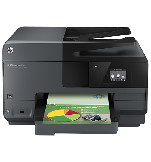 Business Ink Multifunction Printers HP Officejet Pro 8610 e-All-in-One Printer