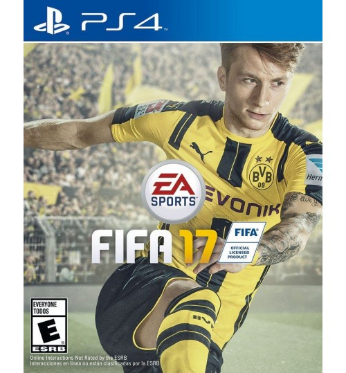 Fifa 17 For Playstation 4 from EA Sports  copy the Middle East