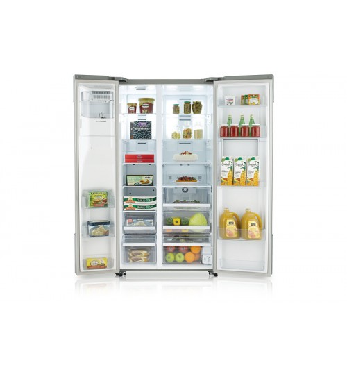 Samsung Refrigerator ROSSO SBS with Water Dispenser, 792.4L / 28.0 cu. ft , Warranty Agent ,RS727CQRASL