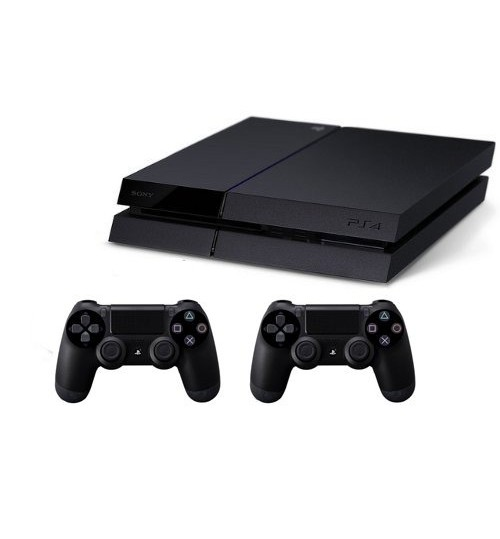 PlayStation 4 ,Sony,1TB,Extra 2 Controller,Guarantee 2 Years from Agent Sony Saudi Arabia