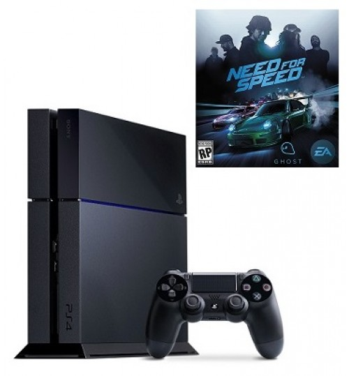 PlayStation 4 ,Sony,1TB,Need for Speed ,Extra 2 Controller,Guarantee 2 Years from Agent Sony Saudi Arabia