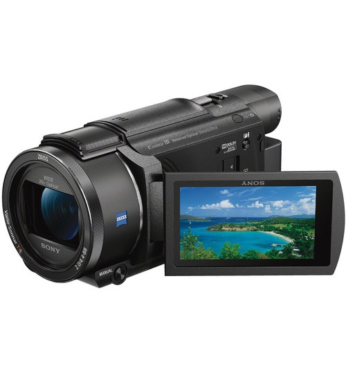 Sony Camera,Ultra HD Handycam Camcorder,4K ,30p ,100mbps,BOSS+5Axis, HS Rec, 20X,FDR-AX53,Agent Guarantee