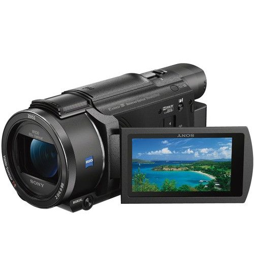 Sony Camera, AX53 ,4K ,Handycam,With Sensor ,Exmor ,CMOS,Guarantee 2 Years