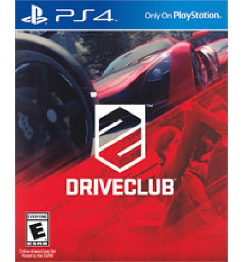 DRIVECLUB PS4,Sony Playstation 4, Games ,Driveclub