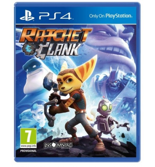 Playstation games,RATCHET & CLANK ,PS4,SC-PS4-RATCHET,Sony