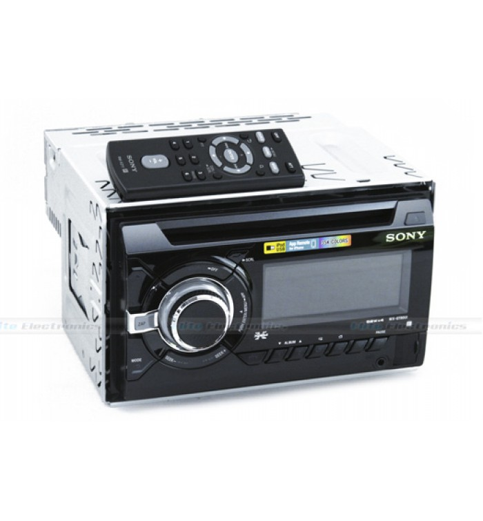 CD Player-CD Receiver with USB-WX-GT80UI-Double DIN-Agent Guarantee-  SPECIFICATIONSThe versatile WX-GT80UI's App Remote control- SAR499 00-  WX-GT80UI-