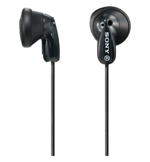Sony Headphone,Sony,Earbud Headphones,MDR-E9LP/BLK , Black