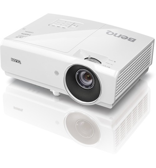 Benq Projector,3D,4000-Lumen, Full HD, DLP Projector,MH741,Agent Guarantee