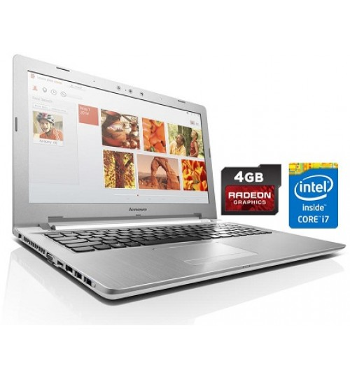 Lenovo Laptop,15.6-inch Full HD LED,Core i7 5500U,Hard 1TB,RAM 8GB, Z51-70,White,Agent Guarantee