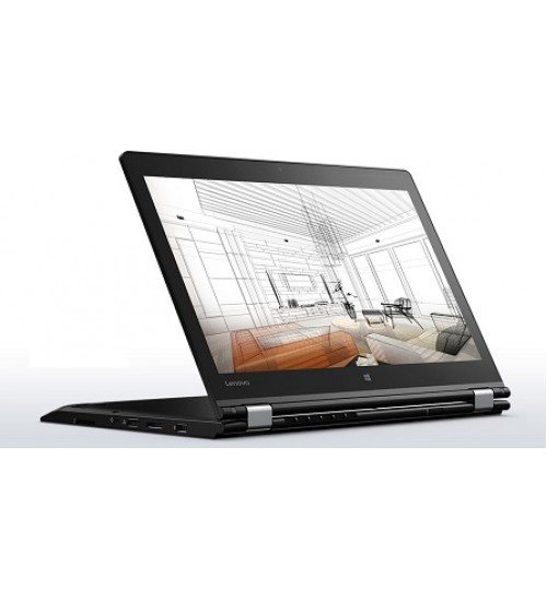Laptop Lenovo,ThinkPad P40 Yoga,14-inch Full HD,Intel Core i7-6500U,8 GB RAM,256GB SSD,NVIDIA Quadro M500M 2GB,Windows 10,2-in-1 Convertible Laptop Computer,Agent Guarantee