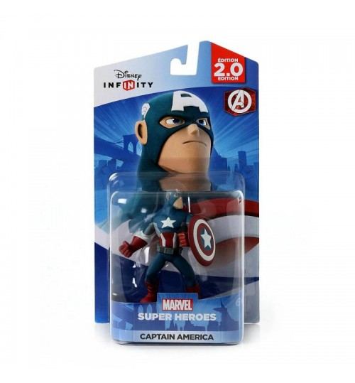Game Disney Infinity 2, GamePlay Character,Action Figure,Captain America,for Major Gaming Platform