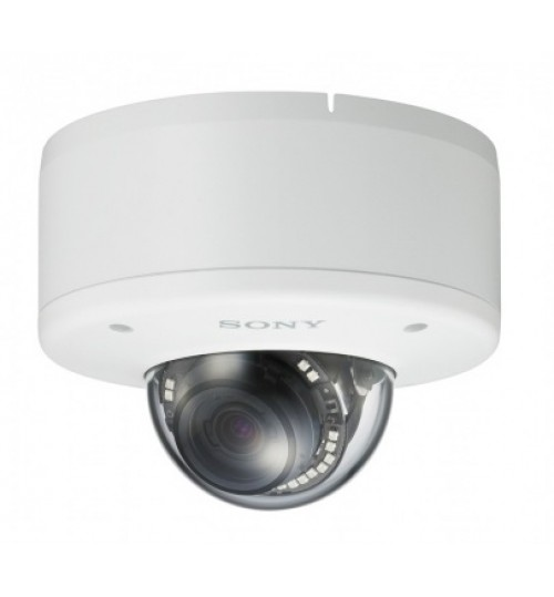FHD Outdoor Minidome IP Camera,Sony, IP66/IK10 Rated, IR Illuminator, View DR (90 dB WDR), 180P/30 fps, Image Stabilizer, Triple Streaming,SNC-EM632RC,Agent Guarantee