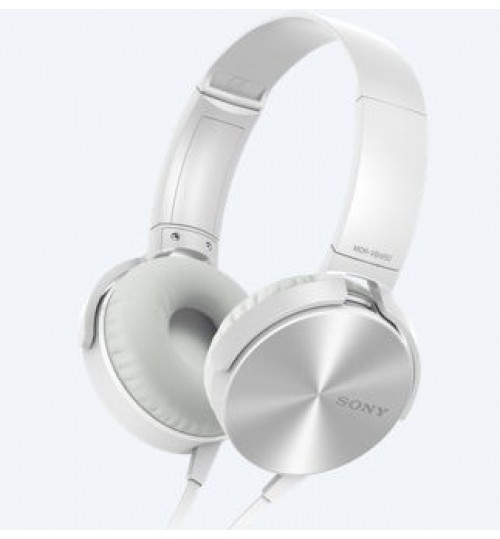 HeadPhones Sony,XB450AP,EXTRA BASS Headphones,5-22000 Hz,White,Agent Guarantee