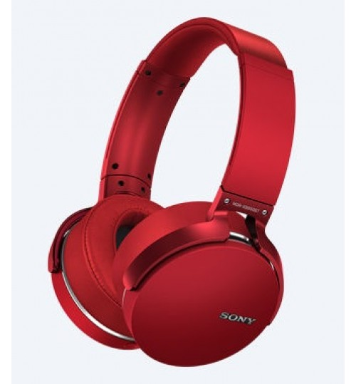 HeadPhone Sony,XB950BT,EXTRA BASS Bluetooth Headphones,MDR-XB950BT,Red,Agent Guarantee