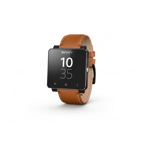 Smart Watches Sony,Smart Watch 2 Sony,WATCH 2 STRAP  Made for Android,Brown,Agent Guarantee