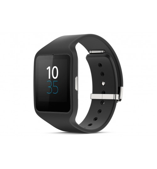 Smart Watche Sony,SmartWatch 3 for Android,Transflective Display SmartWatch,SWR50-BLKWATCH,Black,Agent Guarantee