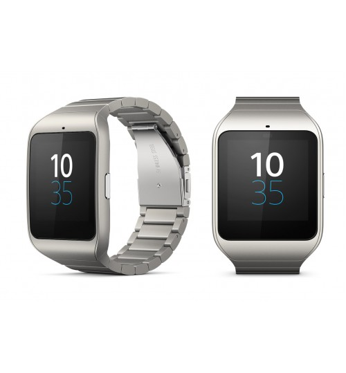 Smart Watche Sony,SmartWatch 3 for Android,Transflective Display SmartWatch,SWR50-SSTWATCH,Stainless Steel,Agent Guarantee