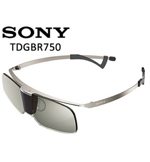 Sony Glasses,Titanium 3D Active Glasses,Active 3D Glasses,TDG-BR750,Agent Guarantee