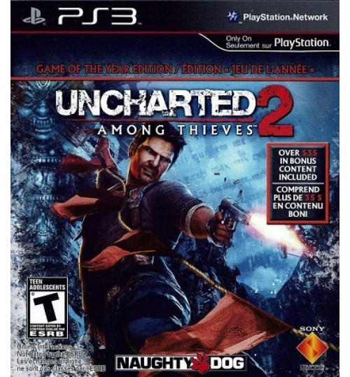 Playstation Games,Uncharted 2: Among Thieves,Playstation 4